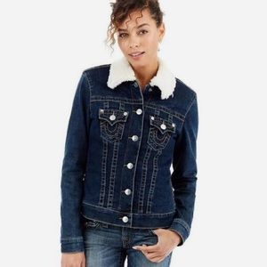 BNWT True Religion Denim Jacket